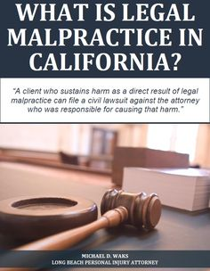 Legal malpractice occurs when an attorney fails to provide reasonably competent representation to a client who sought his or her legal services. Like medical malpractice, legal malpractice can give rise to civil litigation. A client who sustains harm as a direct result of legal malpractice can file a civil lawsuit against the attorney who was responsible for causing that harm. Legal malpractice cases can be complicated. Anyone who believes he