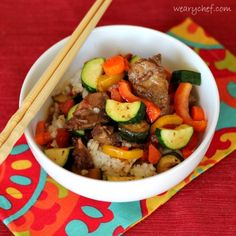 This Slow Cooker Asian Beef is an excellent one-dish meal with fork-tender meat and a flavorful sauce. It gives Chinese takeout a run for its money!