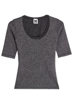 M MISSONI Metallic Knit Top. #mmissoni #cloth #