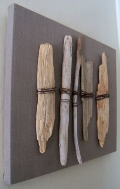 Great artwork for a natural wood inspired nursery.