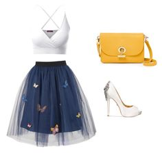"""""""Untitled #5"""" by sydney-83 on Polyvore featuring George J. Love, Doublju, Waverly and Badgley Mischka"""