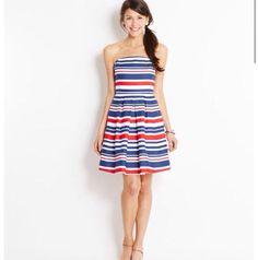 Cute summer dress. A hint of patriotic too. July 4th anyone?
