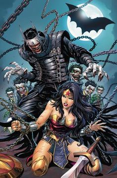Wondy - ❤️ -DARK NIGHTS METAL #6 (OF 6) UNKNOWN COMIC BOOKS EXCLUSIVE WITH 4 PACK W/ CON EXCLUSIVE KIRKHAM 3/14/2018