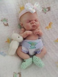 One Of A Kind Mini Art Baby by*Bttrfly Creations*