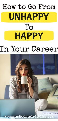 If you are fed up and unhappy with your job, then you need to read this. This is the career advice you need right now! This idea will change the whole outlook of your development in your career and lead you to choose a happier path. Take Care Of Yourself, Finding Yourself, Work Life Balance Quotes, Enjoy Your Life, Career Advice, Time Management, Believe In You, How Are You Feeling, How To Apply