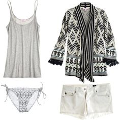 """untitled summer #6"" by sarahswansondesign on Polyvore"