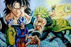 Dragon Ball Z, Dragon Ball Image, Dbz, Broly Movie, Retro Video Games, Anime Shows, Anime Comics, Chibi, Instagram