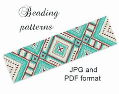 Bead Loom Pattern  Loom Tutorial  Beading Pattern  Loom