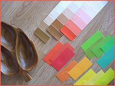 All sorts of paint swatch stuff at flickr