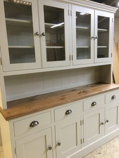 We love this bespoke glazed dresser. We can match any colour.   Bespoke furniture at affordable prices!