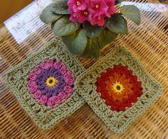 Ravelry: Blushing Bride Square pattern by Heather Prusia...free pattern!