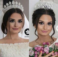 Pin By Aystar On Gelin Sac Makyaj Crown Bride Flawless
