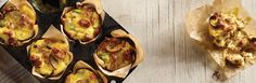 Bring the whole family to the table with these hearty mini quiches made with savory Jimmy Dean® Pork Sausage, veggies and Cheddar cheese.