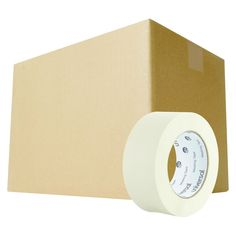 Universal General Purpose Masking Tape, 48mm x 54.8m, 3 Core, 2/Pack, 12 Packs/Carton, Beige