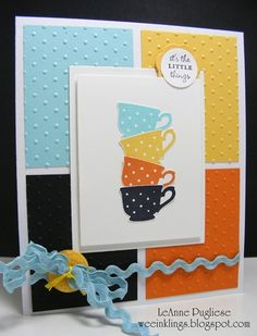 love the colors and simplicity of this card