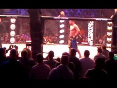 MMA Knee to the groin Marcus Davis vs Spiritwolf gets hauled out in a st...