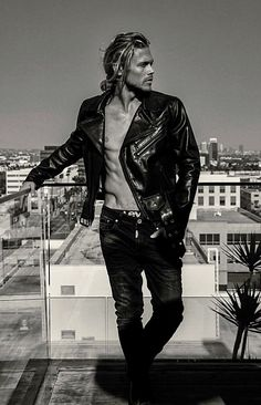 Brown Leather Jacket Men, Classic Leather Jacket, Lambskin Leather Jacket, Vintage Leather Jacket, Leather Men, Leather Jackets, Christopher Mason, Chris Mason, Hot Hunks