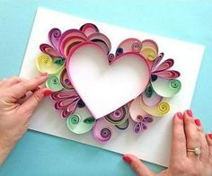Comment faire facile Quilling - Comment faire facile Quilling The Effective Pictures We Offer You About diy projects A quality pic - Paper Quilling Patterns, Quilled Paper Art, Quilling Paper Craft, Paper Crafts, Quilling Ideas, Quilling Letters, Paper Beads, Paper Flower Art, Paper Flowers Diy