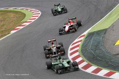 Kamui Kobayashi, Caterham, Circuit de Catalunya, 2014
