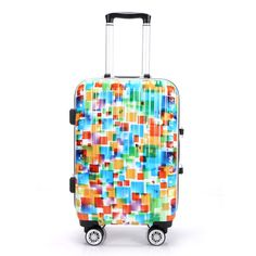 Luggage & Bags Rolling Luggage Friendly 20 Inch Scooters Trolley Case 100% Pc 3d Extrusion Business Travel Luggage Child Boarding Box Travel Case Bags Roller Suitcase Clear And Distinctive