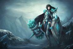 League Of Legends - Fem Taric wallpaper - Fabulous!