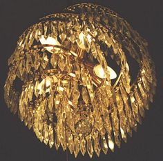Crystal chandelier lighting are one of the most beautiful chandeliers of all The dining room chandelier light fixture serves two purposes. Description from ochandelier.net. I searched for this on bing.com/images