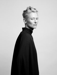 """""""I don't work the future - I don't want to know what's coming.  I don't feel I need any guarantees"""" - tilda"""
