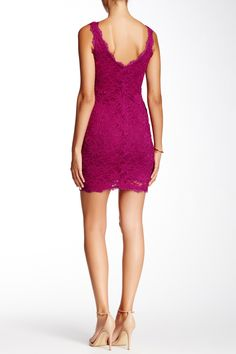 Eyelash Trim Lace Dress by JUMP on @nordstrom_rack