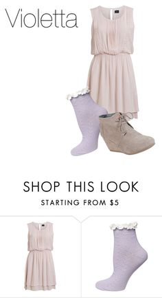 """""""Violetta"""" by idapolyvore ❤ liked on Polyvore featuring VILA, Dorothy Perkins, TOMS, women's clothing, women, female, woman, misses and juniors"""