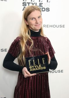 Katie Hillier Wins Accessories Designer of the Year at the ELLE Style Awards.