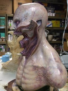 Love the design of this vampire creature! - from Blade II