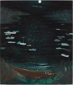 Skinny Dippers and Refuge Seekers, 2013 Jules de Balincourt