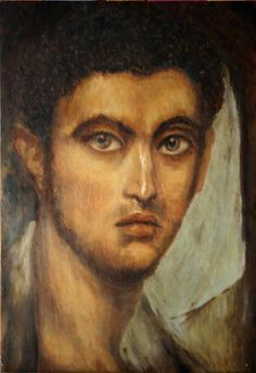 WOW what a Fayum mummy face! Egyptian Mummies, Egyptian Art, Ancient Rome, Ancient Art, Egypt Mummy, Rome Antique, Empire Romain, Roman Art, Art Moderne