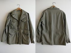 Vintage M-43 WWII Field Jacket 34-R Pattern B