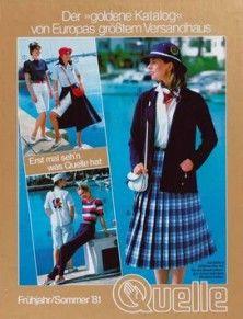 Modekataloge - Quelle Kataloge