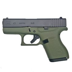 Check out the deal on Glock 43 Gen 4 Battlefield Green at Rockyourglock Store