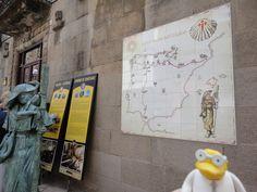 camino de santiago, poble espanyol de barcelona