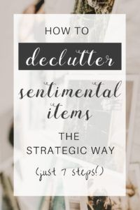 Have a boxful of emotional items in the garage? Need declutter tips that actually work? Don't tackle sentimental items without a plan. On this episode of The Sustainable Minimalists podcast: How to handle emotional clutter the strategic way in just 7 steps. Emotional Clutter, Clutter Organization, Organization Ideas, Clutter Solutions, Clutter Control, Declutter Your Life, Making Life Easier, Simple Living, Tiny Living