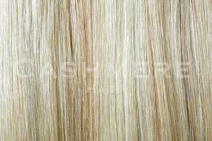 Pale Ash Blonde Clip In Hair Extensions - CASHMERE HAIR