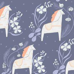 Dala Horse - Šití Nití