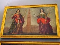 Santa Justa y Santa Rufina, saintes patronnes de Séville © Aurélie Fauré