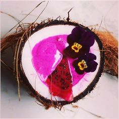 Pink and charcoal coconut. Check out the foods you will be obsessed with this year full article link in bio  #coconut #pinkcoconut #pinkcoconutwater  via MARIE CLAIRE MALAYSIA MAGAZINE OFFICIAL INSTAGRAM - Celebrity  Fashion  Haute Couture  Advertising  Culture  Beauty  Editorial Photography  Magazine Covers  Supermodels  Runway Models