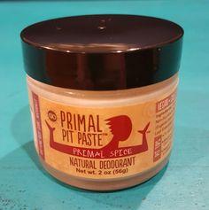 Primal Pit Paste Review--Best Natural Deodorant!