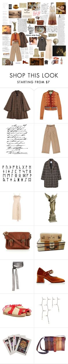 """Children of the occult"" by the-clary-project ❤ liked on Polyvore featuring Zucca, Etro, Shin Choi, Seraphina, MANGO, Prada, Yohji Yamamoto, Edition, Oasis and Fallon"