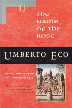 Umberto Eco, Name of the Rose, historical fiction, 14th century Italy