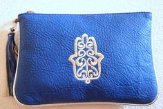 Hey, I found this really awesome Etsy listing at http://www.etsy.com/listing/161848637/blue-moroccan-clutch-cosmetic-purse