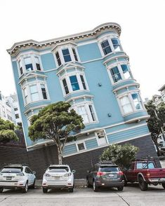 Confusing perspective of winding Street in San Francisco fun funny funny pics Lombard Street, San Francisco Travel, San Francisco California, California California, Sausalito California, Monterey California, California Wedding, San Francisco City, San Francisco Photography
