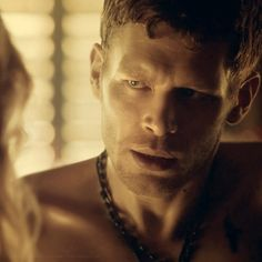 Joseph Morgan who portrays Klaus in The Vampire Diaries and The Originals