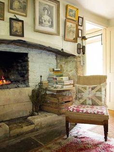 Home Decoration Ideas In India .Home Decoration Ideas In India English Cottage Interiors, English Cottage Style, English Country Cottages, French Cottage, Romantic Cottage, Romantic Homes, English Style, Shabby Chic Kitchen, Shabby Chic Decor