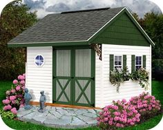 Cute Storage Sheds | Cute storage shed | Outdoor Misc.